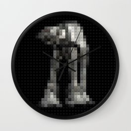 Toy Building Bricks Imperial Walker Wall Clock