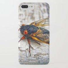 Red Eyed Cicada iPhone 7 Plus Slim Case