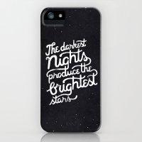 Darkest Nights iPhone (5, 5s) Slim Case