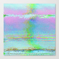 08-24-89 (Digital Drawing Glitch) Canvas Print