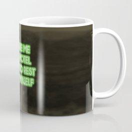 Neon - Oh a motel Coffee Mug