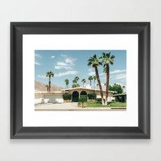 Memory form California Framed Art Print
