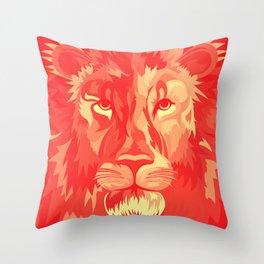 Big Kitty Throw Pillow