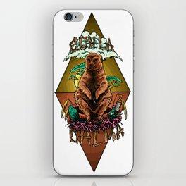 CON LA CALMA iPhone Skin