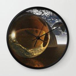 No Gravity Here Wall Clock