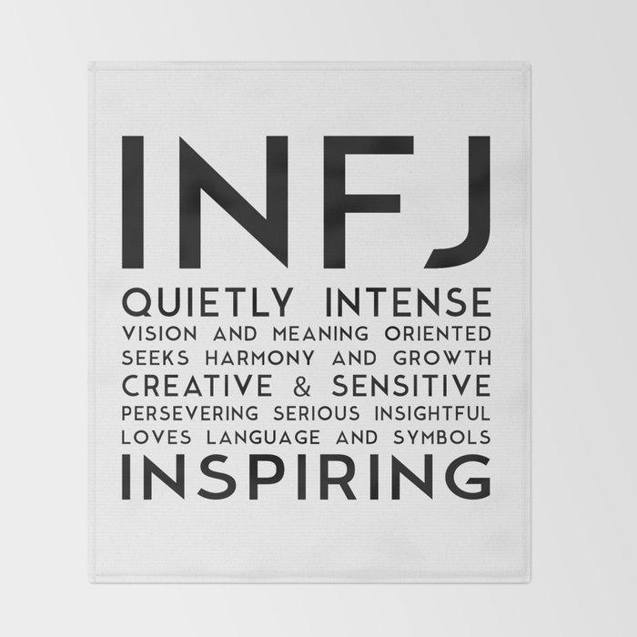 INFJ Throw Blanket