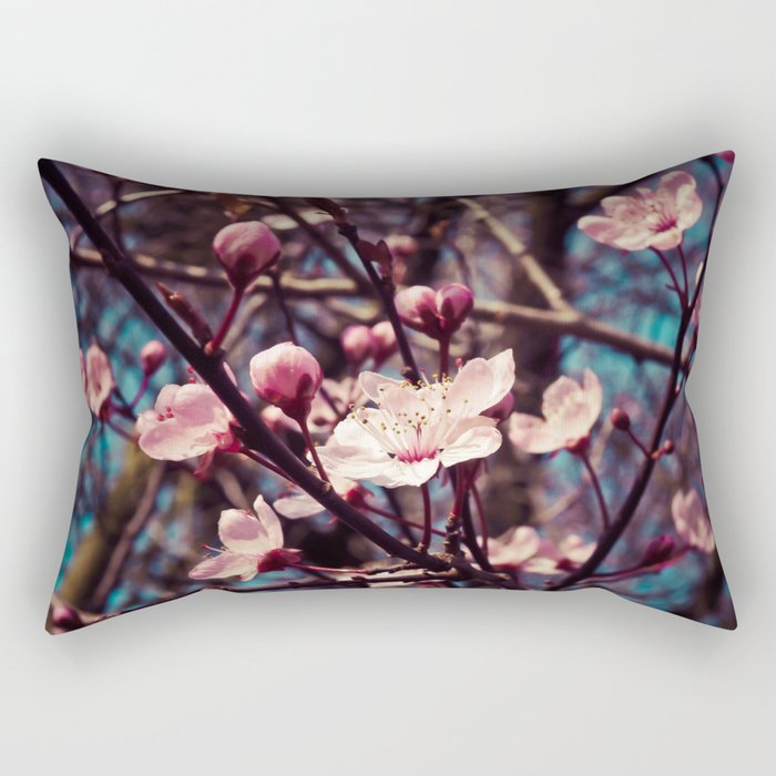 almond blossom Rectangular Pillow