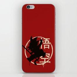 Jump Goku 2 iPhone Skin