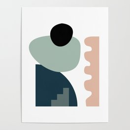 Shape study #18 - Stackable Collection Poster
