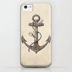 Lost at Sea - mono iPhone 5c Slim Case