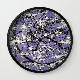 Purple Carnage Wall Clock