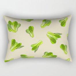 Bok Choy Vegetable Rectangular Pillow