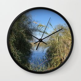 A View on the City Tiberias and The Sea of Galilee Wall Clock