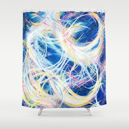 Blutiful Shower Curtain