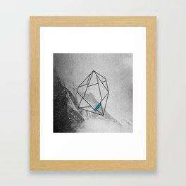 die, manned.  Framed Art Print