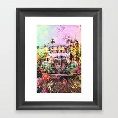 Driving Miss Daisy Framed Art Print