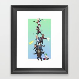 Task Force X Framed Art Print