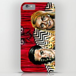 """The Red Room"" by Kristin Frenzel iPhone Case"
