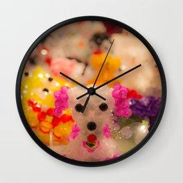 Jewel Dog Wall Clock