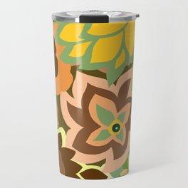 CAMBRIA, ART DECO FLORALS: EARLY AUTUMN Travel Mug