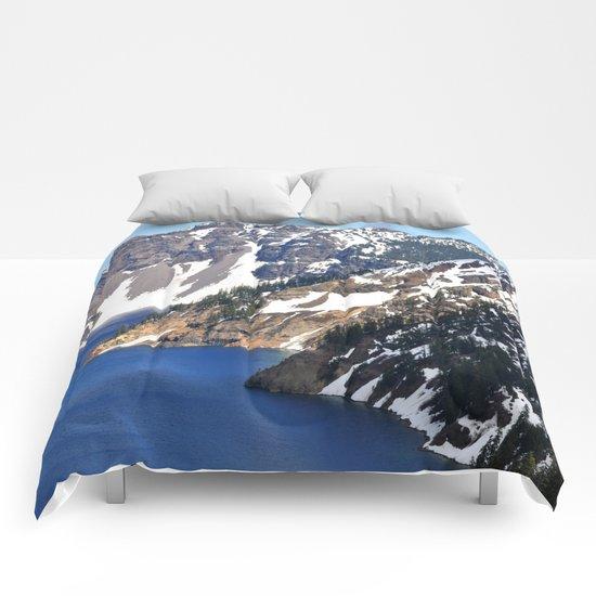 CRATER LAKE Comforters