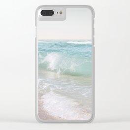 Beach Waves | Photography Summer Vibes | Sun Fun | Water Ocean | Salt | Sea Clear iPhone Case