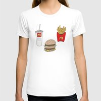 mac T-shirts featuring Big Mac by Onvit Kwon