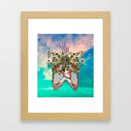 epitaph for my heart. Framed Art Print