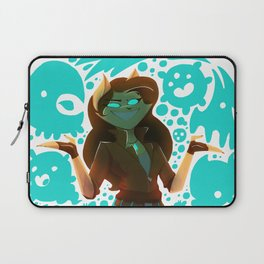 Are you entertained yet? || ScribbleNetty (Colored) Laptop Sleeve