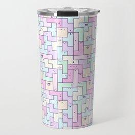 Kawaii Tetris Travel Mug