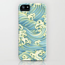 Wave Pattern iPhone Case