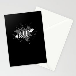 Skydiving Parachute Stationery Cards