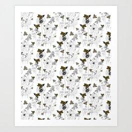 bees knees Art Print