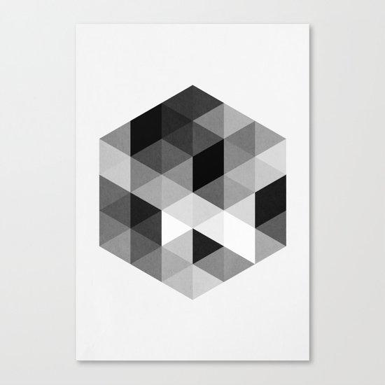 Geo Hex 02. Canvas Print