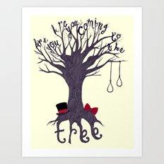 The Hanging Tree Art Print