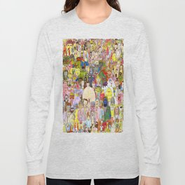 The Fuzzy Crowd Long Sleeve T-shirt