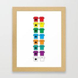 I got colorz Framed Art Print