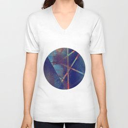 falling to earth Unisex V-Neck