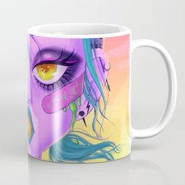 Heavy eyes Coffee Mug