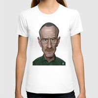 celebrity T-shirts featuring Celebrity Sunday ~ Bryan Cranston by rob art | illustration