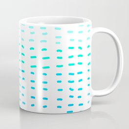 Fiesta at Festival - White & Turquoise Coffee Mug