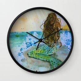 Final Joy Mermaid Wall Clock