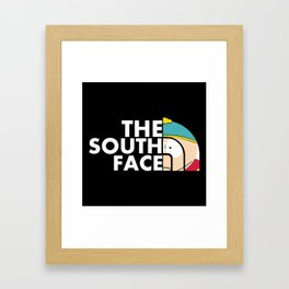 The south face Framed Art Print