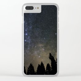 Orionids over Big Sky Clear iPhone Case