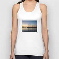 greece Tank Tops featuring Piraceus - Greece by Louise