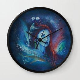 Kawariki & The Shark Man Wall Clock