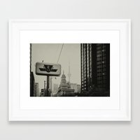 toronto Framed Art Prints featuring Toronto by Snablab