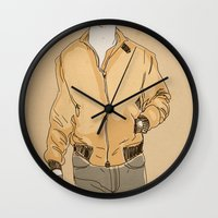 drive Wall Clocks featuring Drive by Marc Mif