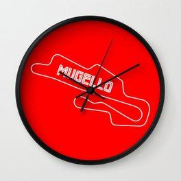 Race Track Mugello, Home of Ducati Wall Clock