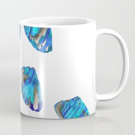Blue And White Abstract Art - Falling 1 - Sharon Cummings Coffee Mug
